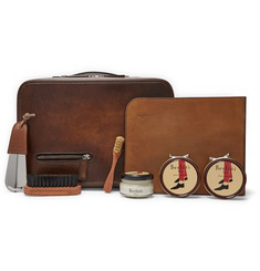 Berluti Shoe Care Kit with Leather Case