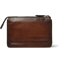 Berluti Tersio Polished-Leather Pouch