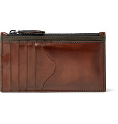 Berluti Koa Polished-Leather Cardholder