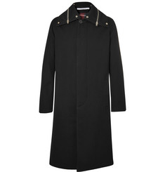 Givenchy Zip-Detailed Cotton-Canvas Coat