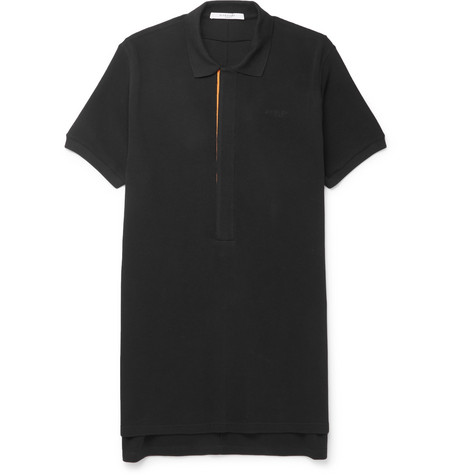 364cf0f6157e oversized-columbian-fit-cotton-piqué-polo-shirt by givenchy