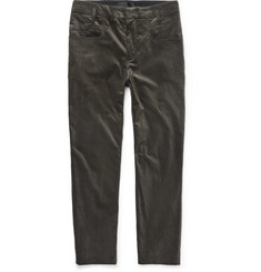 Haider Ackermann Cotton-Blend Velvet Trousers