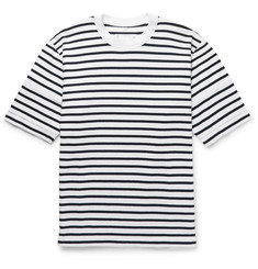 Sacai Dixie Striped Cotton-Jersey T-Shirt