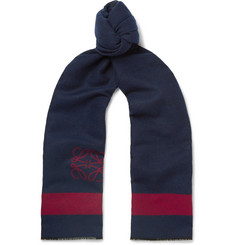 Loewe - Wool and Silk-Blend Scarf
