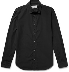 Maison Margiela Garment-Dyed Cotton-Poplin Shirt