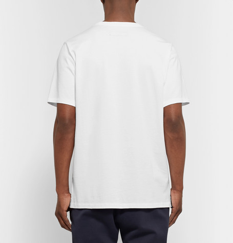 RAG & BONE Vacation Printed Cotton-Jersey T-Shirt