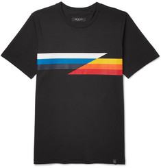 rag & bone Glitch Slim-Fit Printed Cotton-Jersey T-Shirt