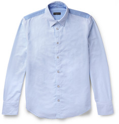 rag & bone Slim-Fit Button-Down Collar Two-Tone Cotton Oxford Shirt