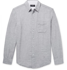 rag & bone Beach Slim-Fit Slub Cotton Shirt