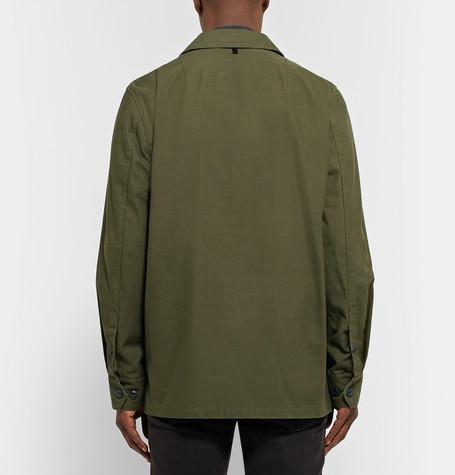RAG & BONE Heath Slub Cotton Shirt Jacket