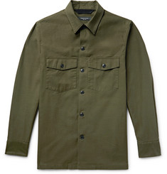 rag & bone - Heath Slub Cotton Shirt Jacket