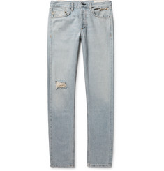 rag & bone - Fit 2 Slim Distressed Selvedge Denim Jeans