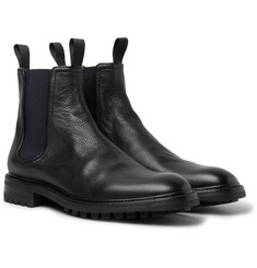 rag & bone - Spencer Pebble-Grain Leather Chelsea Boots