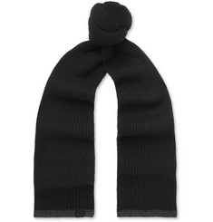 rag & bone Ace Ribbed Cashmere Scarf