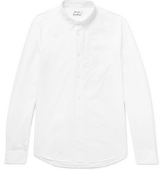 Acne Studios Isherwood Button-Down Collar Cotton Oxford Shirt