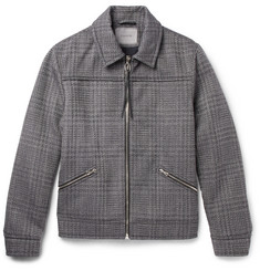Lanvin Checked Woven Jacket