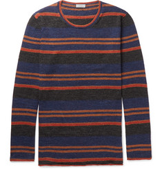 Lanvin Striped Slub Wool and Alpaca-Blend Sweater
