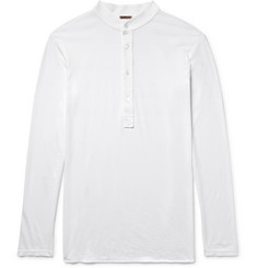 Barena Nalin Cotton-Jersey Henley T-Shirt
