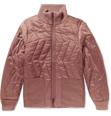 Saturdays NYC Nazar Quilted Shell Jacket