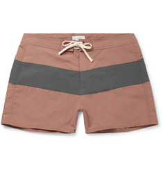 Saturdays NYC Grant Short-Length Colour-Block Swim Shorts