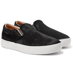 Saturdays NYC - Vass Calf Hair Slip-On Sneakers