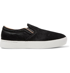 Saturdays NYC Vass Calf Hair Slip-On Sneakers