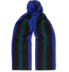 Acne Studios Ninos Striped Wool Scarf