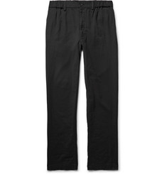 Issey Miyake Men Pleated Cotton Trousers