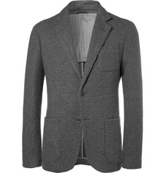 Giorgio Armani - Grey Slim-Fit Textured Cashmere and Silk-Blend Blazer