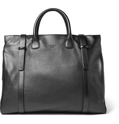 Giorgio Armani Full-Grain Leather Holdall