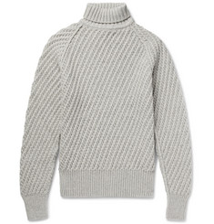 TOM FORD Cashmere and Wool-Blend Rollneck Sweater