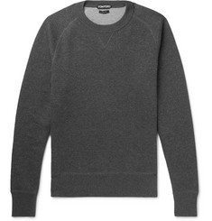 TOM FORD Cotton-Blend Jersey Sweatshirt