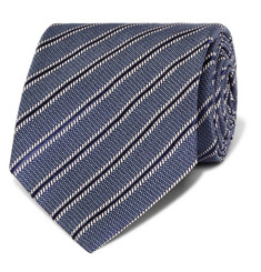 TOM FORD - 8cm Striped Silk Tie