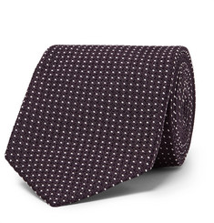 TOM FORD 8.5cm Polka-Dot Silk-Blend Jacquard Tie