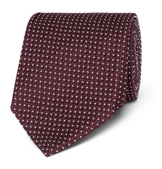 TOM FORD 8cm Polka-Dot Silk-Blend Jacquard Tie