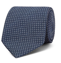 TOM FORD 8cm Pin-Dot Silk-Blend Jacquard Tie