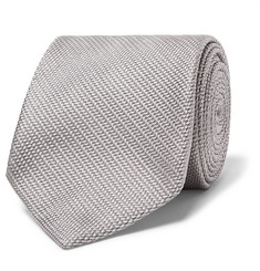 TOM FORD - 8.5cm Woven Silk Tie