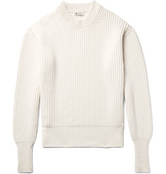 Connolly Ribbed Cashmere and Silk-Blend Sweater