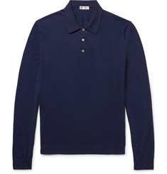 Connolly Knitted Cotton Polo Shirt