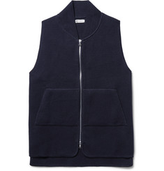 Connolly Waffle-Knit Cotton Gilet