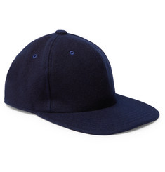 Blue Blue Japan Melton Wool-Blend Baseball Cap