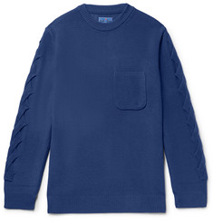 Blue Blue Japan Knitted Sweater