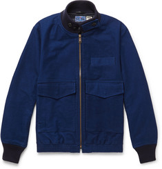 Blue Blue Japan Cotton Bomber Jacket