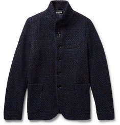 Blue Blue Japan Slim-Fit Mélange Wool Jacket