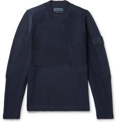 Stone Island Textured-Wool Sweater