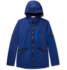 Stone Island Water-Resistant Nylon Metal Hooded Jacket