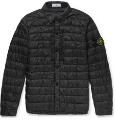 Stone Island Garment-Dyed Shell Down Jacket