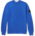 Stone Island - Fleece-Back Cotton-Jersey Sweatshirt