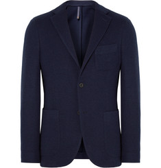 Incotex - Navy Slim-Fit Unstructured Wool-Blend Blazer