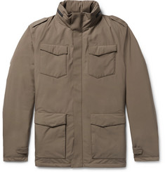 Herno Laminar Slim-Fit Padded GORE-TEX Hooded Down Jacket